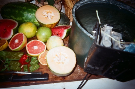 Healthy Homegrown Veg-Fruits 2012